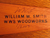 WWS Woodworks stamp